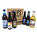 Hops and Shots Discover Introductory Craft Beer and Craft Cider Selection Bottles and Cans x 6. Pack. The Perfect Connoisseur Craft Beer