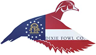 Georgia Woodie - Dixie Fowl Co Decal