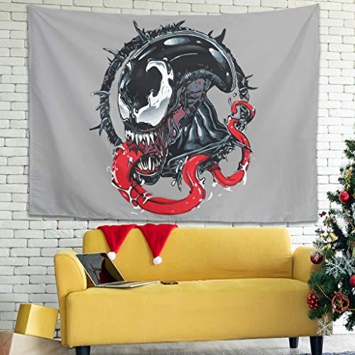 Xuanwuyi manta decoración de dormitorio para sala de estar fácil de empacar - Se puede llevar en todas las estaciones de color blanco 91 x 149 cm
