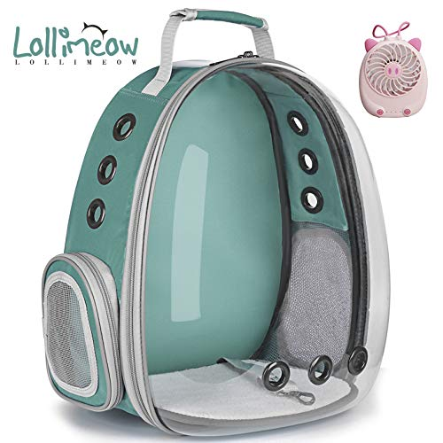 Lollimeow Pet Carrier Backpack, Waterproof Bubble Backpack Carrier, Cats and...