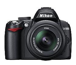 Nikon D3000 Fotocamera digitale 10.75 megapixel