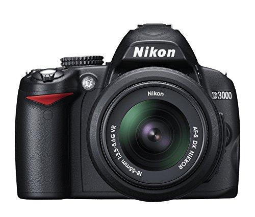 Nikon D3000 - Cámara Réflex Digital 10.2 MP (Cuerpo)