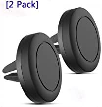 AD ADTRIP Magnetic Phone Car Mount Air Vent Car Phone Mount Holder Compatible with iPhone, Samsung Galaxy, LG, Huawei and More Strong Magnet with 4 Metal Plates-[2 Pack]
