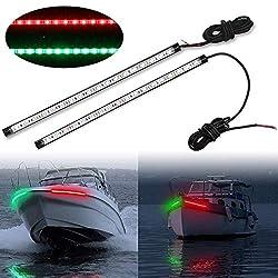 commercial Obcursco 12inch LED Navigation Light Kit for Offshore Boat Ski Tarpon Yachts… led boat lights