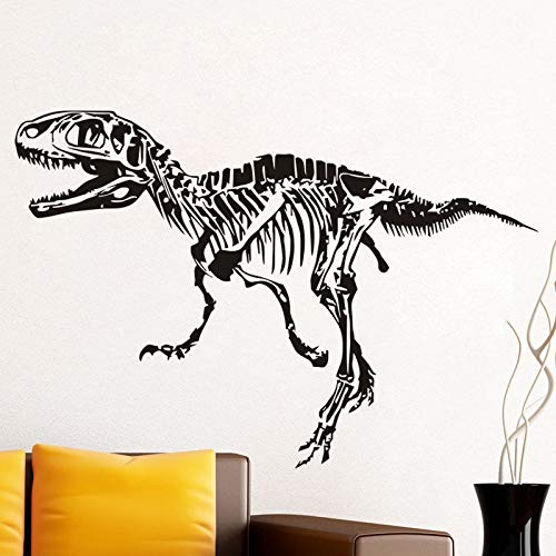Ajcwhml Boys Rooms Art Mural Wall Decal T Rex Dinosaur Fossil Wall Sticker Special Design Bedding Decor Vinyl Waterproof Pattern 75X111CM