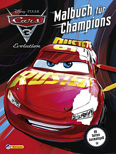 Disney Cars 3: Malbuch für Champions