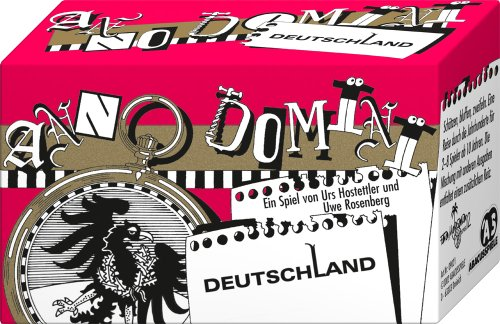 ABACUSSPIELE 09021 - Anno Domini - Deutschland, Quizspiel, Schätzspiel, Kartenspiel