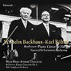 ベートーヴェン : ピアノ協奏曲第4・3番 / ヴィルヘルム・バックハウス&カール・ベーム&ウィーン・フィルハーモニー管弦楽団、マイラ・ヘス&アルトゥーロ・トスカニーニ&NBC交響楽団 (Beethoven : Piano Concerto No.4 & No.3* / Wilhelm Backhaus & Karl Bohm & Vienna Philharmonic Orchestra *Myra Hess & Arturo Toscanini & NBC Symphony Orchestra) [UHQCD] [国内プレス] [Live] [日本語帯・解説付]