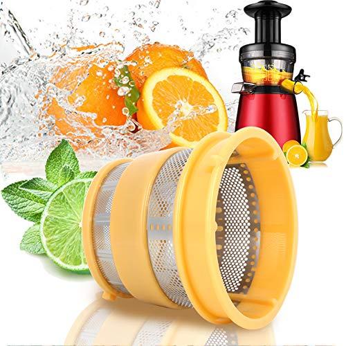 Exprimidor lento Filtro colador de malla gruesa Filtro de filtro de exprimidor de acero inoxidable Accesorios de filtro Exprimidor de prensado en frío Piezas de repuesto Estera para HU500DG/HU