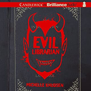 Evil Librarian audiobook cover art