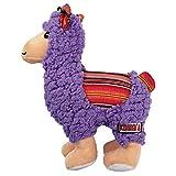 KONG Sherps Llama Dog Toys, Medium, Purple