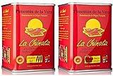 Pimentón de La Vera Ahumado Dulce y Picante pack La Chinata latas 160g...