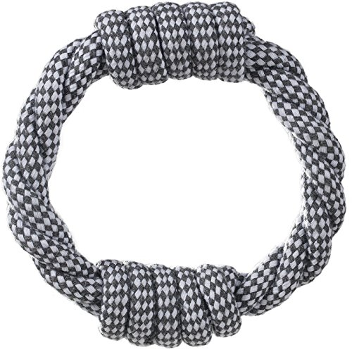 Paws & Pals Dog Chew Toys, Indestructible Cotton Braided Rope Toy, Best for Teething Puppy or Large Breed Aggressive and Heavy Chewers, Dogs Play Fetch, Heavy-Duty, Variety of Sizes & Styles
