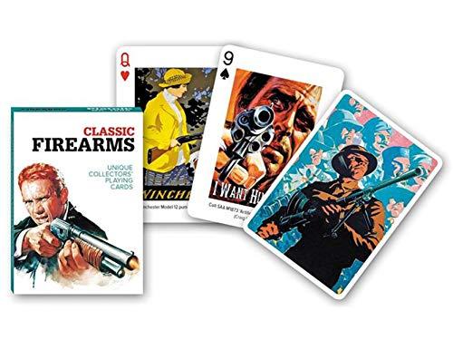 Piatnik Classic Firearms Unique Collectors' Playing Cards No.1698 - Baraja Poker Armas Clásicas
