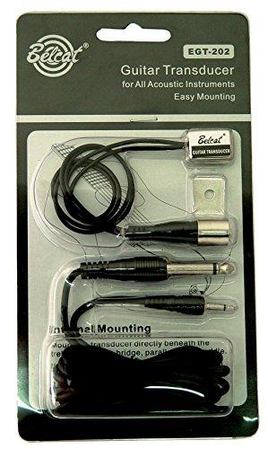 Belcat EGT-202 Micro guitare acoustique/classique Double Transducer