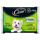 Cesar Comida Húmeda para Perro, Selección Carnes Mixtas en Gelatina,...