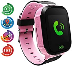 Kids Smartwatch for Boys and Girls Children GPS Touch Phone Wrist Watch with 1.44