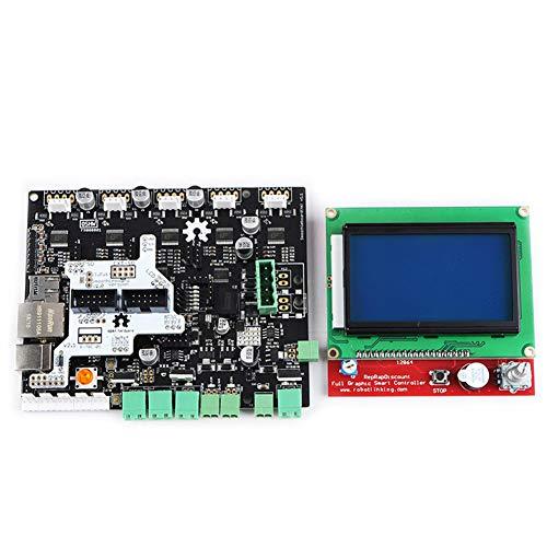 Fostar Smoothie Board 5X V1.1 + 12864 LCD-Bildschirm-Kit für 3D-Drucker