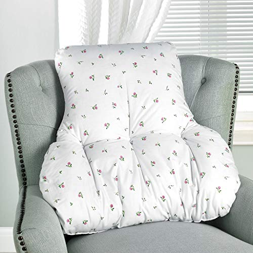 Diana Cowpe Rosebud T Shaped Lumbar Back Support Chair Cushion Multipurpose Support Orthopedic Pillow