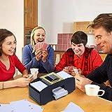 Luccase - Máquina de barajar cartas – Máquina profesional...