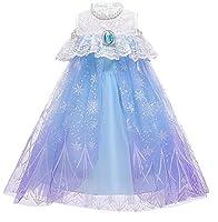 ManYHM プリンセスドレス 子どもコスプレ 可愛いワンピース 女の子 100-150cm (Size : 150CM)