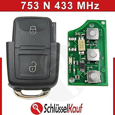 Konikon 433 Mhz Klappschlüssel 2 Tasten Gehäuse Sender Elektronik