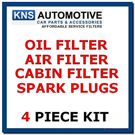Alco Filter NISSAN0011 Oil,Fuel /& Air Filter Service Kit