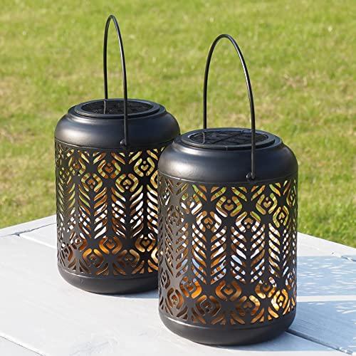 Gadgy Lanterne Solaire Exterieur   Lot De 2   Lampion...
