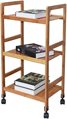 Amazon.com: YQQ-Shelf Mobile Dining Car Home Multi-Function ...