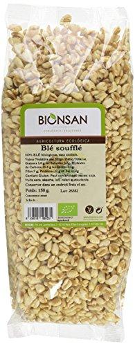 BIONSAN - BIO - Blé Soufflé 150 g - Lot de 3