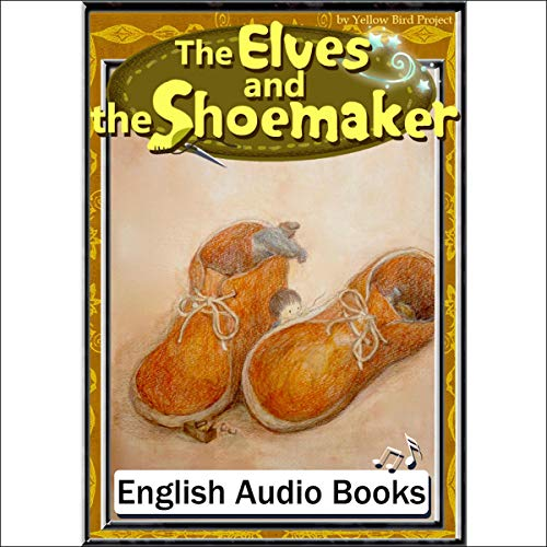 『The Elves and the Shoemaker(小人のくつ屋・英語版)』のカバーアート