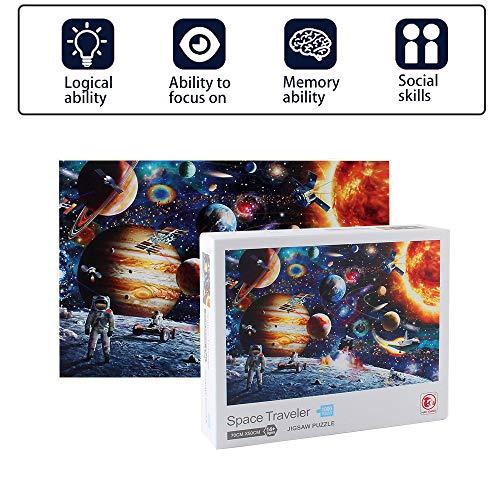 puissant Puzzle spatial Joa Sinc de 1000 éléments pour adultes, jeu de puzzle thématique…