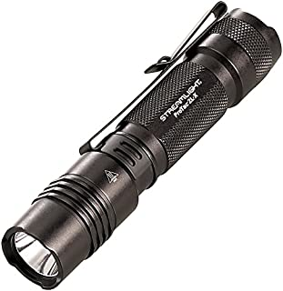 Streamlight 88063 ProTac 2L-X 500 Lumen Professional Tactical Flashlight with High/Low/Strobe Dual Fuel use 2x CR123A or 1x Rechargeable Li-iON Batteries and Holster - 500 Lumens