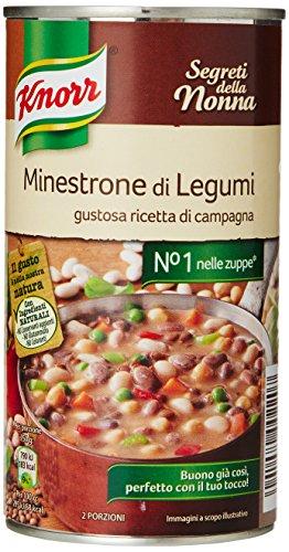 Knorr Minestrone di Legumi - Confezione da 500 g
