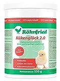 Röhnfried Kükenglück - Preparato per Allevamento (550 g), mangime per Pulcini con vitamine in Polvere, mangime per Pollo, Anatre, oche, Tacchini e pollame