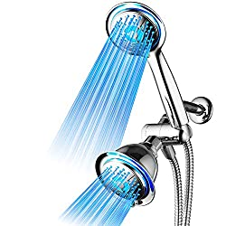 DreamSpa All-Chrome 3-Way Shower System With Air Turbo Technology