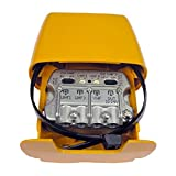 Amplificador Mástil NanoKom 3e/1s 'Easy' F - UHF[dc]UHF-VHFmix