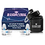 Eargasm Aviation Earplugs - Ear Pain Relief for Air Travel - Small...