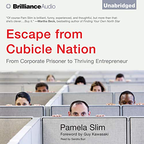 Escape from Cubicle Nation Audiobook By Pamela Slim cover art