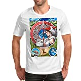 Camiseta Hombre La Princesa Mononoke (Blanco, XL)