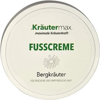 Fuß-Creme-trockene-Haut 1 x 100 ml – Berg-Kräuter-Fuß-Creme – OHNE Paraffine