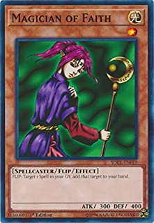 Magician of Faith - SDCL-EN019 - Common - 1st Edition - Structure Deck: Cyberse Link (1st Edition)