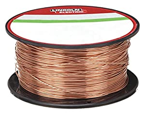 Lincoln Electric SuperArc L-56 MIG Welding Wire - Mild Steel, Copper Coated.025in, 2-Lb. Spool, Model Number ED030583 from Lincoln Electric