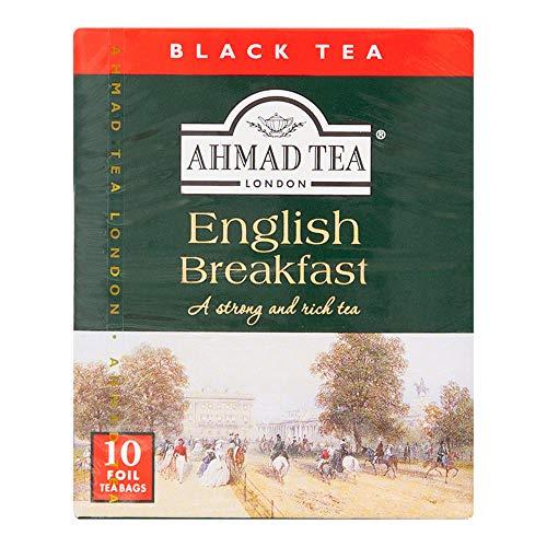 Chá Preto English Breakfast Ahmad Tea London 10 Unidades de 20g