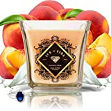Ice N Fire Peaches & Cream Sterling Ring Candle (Hidden Ring Valued up to $5,000)