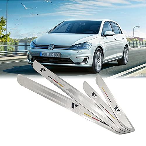 Einstiegsleisten Schutz -Türschweller Edelstahl 4 Stück/Vorderseite Rückseite (For VW)