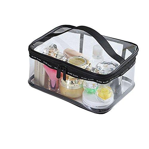 Wildeal Portable de voyage Femme Cosmétique Sacs en PVC transparent étanche étui Organiseur Beauté Maquillage Sac, #2