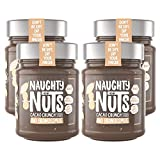NAUGHTY NUTS Bio Erdnussmus CACAO CRUNCH, 100%...
