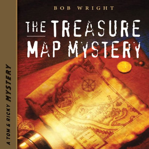 The Treasure Map Mystery audiobook cover art