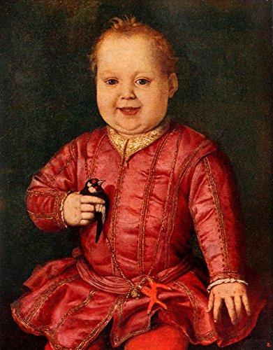 Posterazzi Dedalo 1920 Giovanni de Medici as a Child Poster Print by Agnolo Bronzino, (18 x 24)